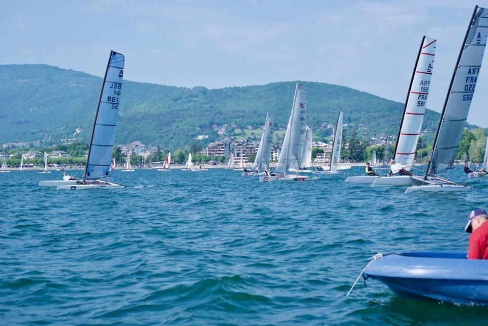 Départ Cata Alpes 2018 - Classe A