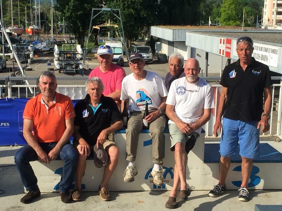 Podium - Cata Alpes 2018 - Classe A
