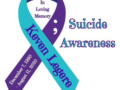 Suicide Awareness Month - Depression