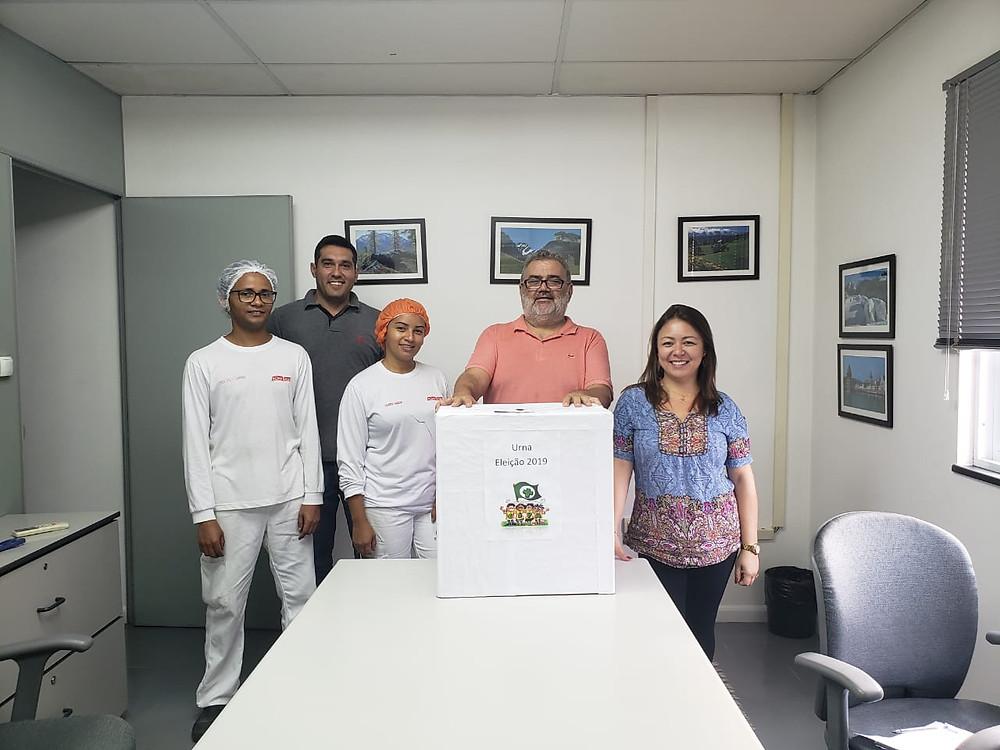 Trabalhadores elegem nova comissão de CIPA na Casa Suíça