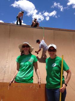 Volunteer Clean Up Crew