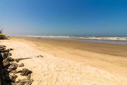 Praia em Mongaguá/SP