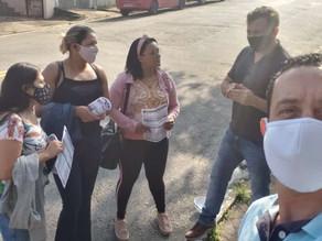 Produtos Alimentícios DUPOT recebe visita de dirigentes do STILASP!