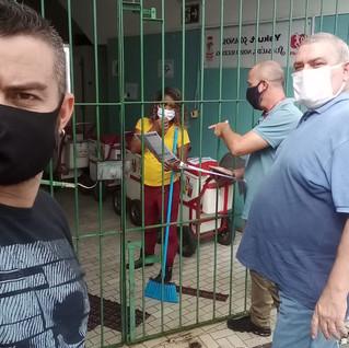 Trabalhadores da Yakult recebem visita do STILASP