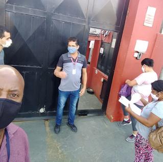 Trabalhadores da Livenza recebem visita do STILASP