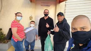 Sorvetes Kidelicia | Dirigentes colhem assinaturas dos trabalhadores