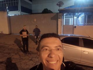 Dirigentes visitam Arco-Íris