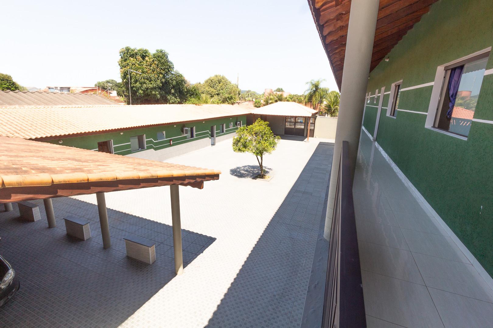 Vista de cima   Pátio - Vista 1