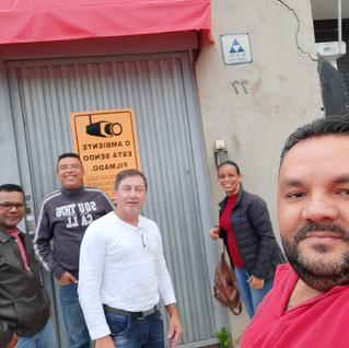 Dirigentes visitam Entre Minas