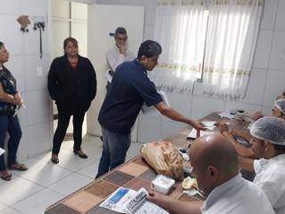 Sawafish: dirigentes visitam a empresa e realizam enquadramento