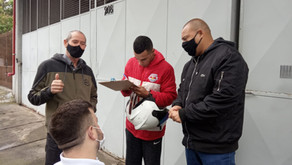 Trabalhadores da Rarllem recebem visita do STILASP