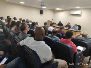Direção do STILASP se reúne para discutir campanhas salariais de 2020