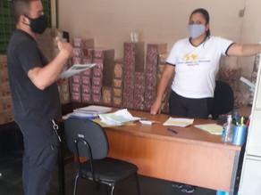 Informativo é entregue para trabalhadores da Yakult de Vargem Grande Paulista/SP
