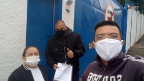Biscoito Granieri | Dirigentes colhem assinaturas dos trabalhadores