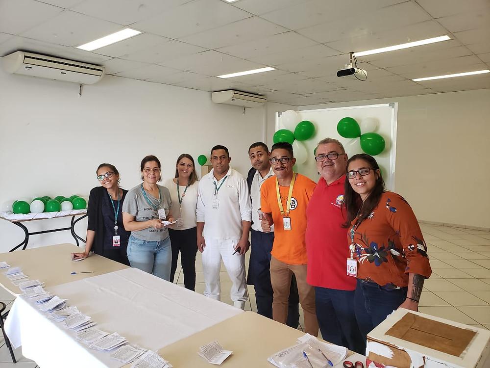 Trabalhadores elegem nova comissão de CIPA no CD da JBS