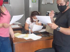 Informativo é entregue para trabalhadores da Yakult de Itapevi/SP