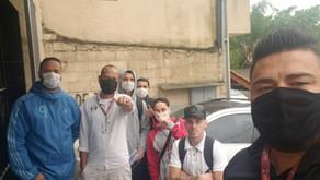Dirigentes visitam trabalhadores da Vinithaly Massas