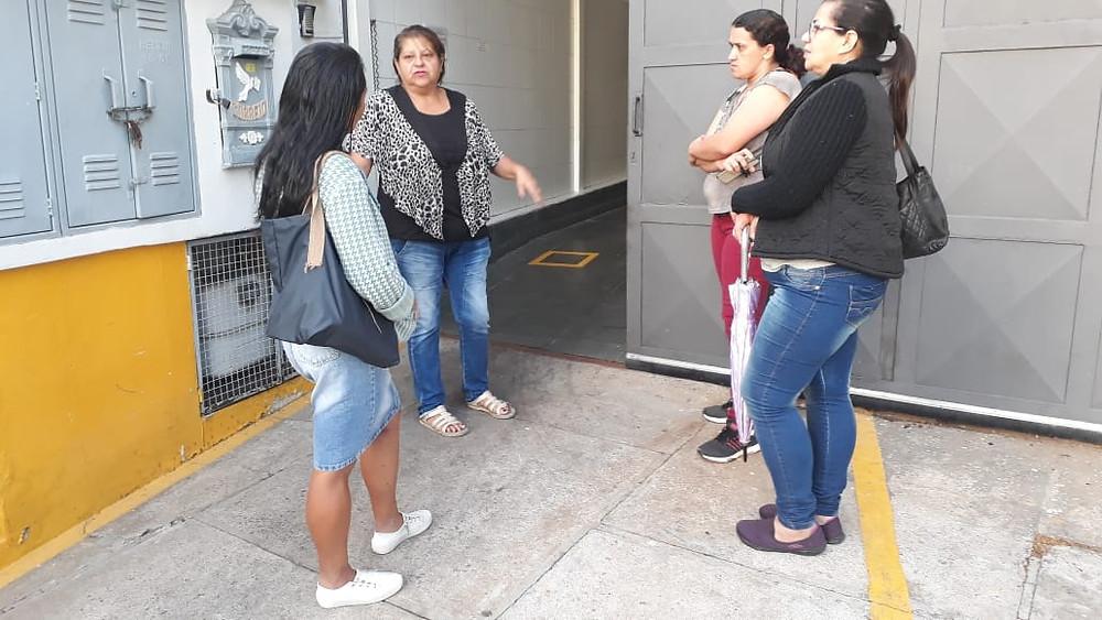 Dirigentes visitam empresa Garcia e Rubens