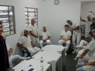 Padovane: reunião com trabalhadores