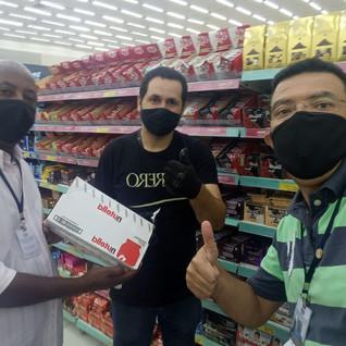 Promotor da Ferrero Rocher recebe visita do STILASP