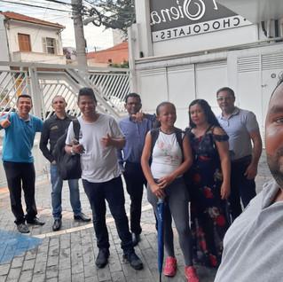 Dirigentes visitam Di Siena!