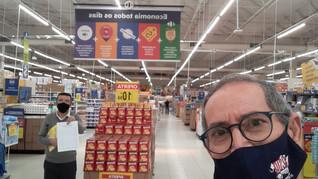 Dirigentes visitam promotores no Carrefour e Extra!