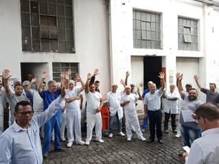 Dirigentes visitam Moinho Angasil