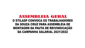 Souza Cruz | Assembleia geral
