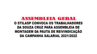 Souza Cruz   Assembleia geral
