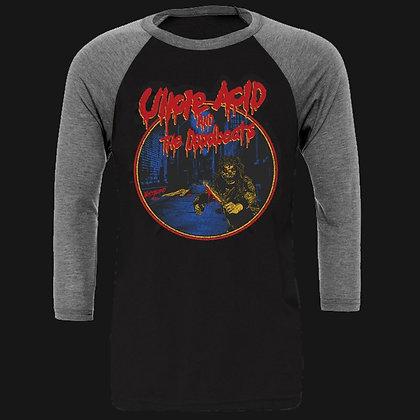 Blood Runner 3/4 Sleeve Baseball Shirt