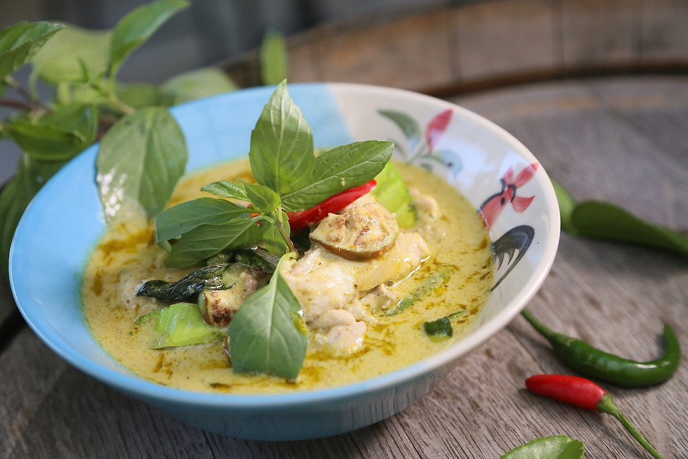 Green curry is one of Thailand's most recognisable dishes - but the bai horapa sweet basil leaves that give it its distinctive flavour can be difficult to track down overseas