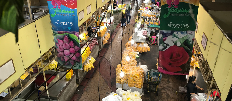 The history of Bangkok's Pak Khlong Talat flower market
