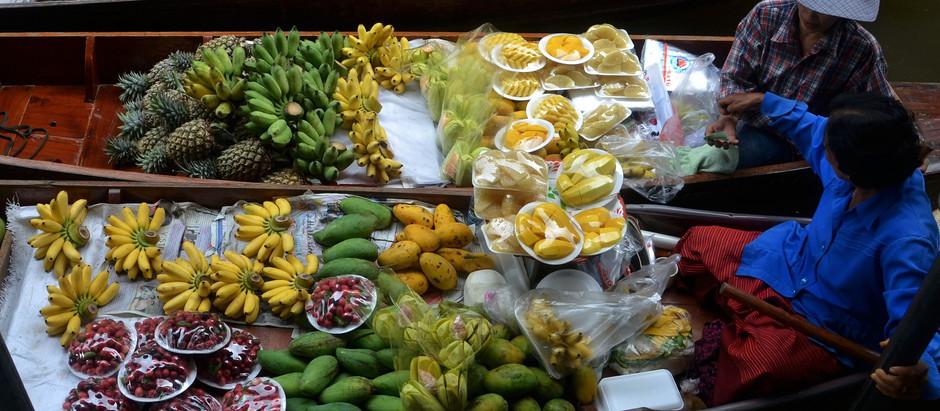 Cooking Thai food overseas: substituting ingredients