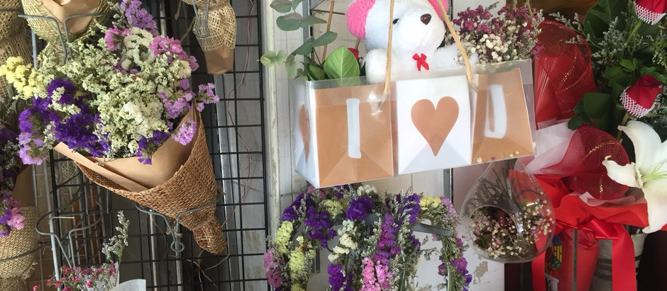 How to celebrate Valentine's Day at Bangkok's flower market