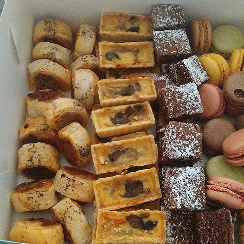 Morning teas for one of our clients. All