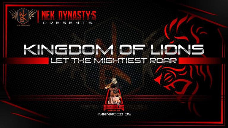 KINGDOM OF LIONS  - PUBG MOBILE TOURNAMENT