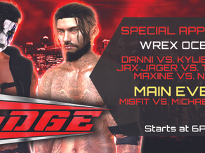 VWE EDGE January 15th 2021 preview