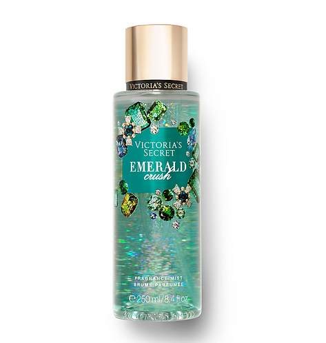 Victoria's Secret Fragrance Mist (250 ml) - Emerald Crush + FREE DKNY POUCH