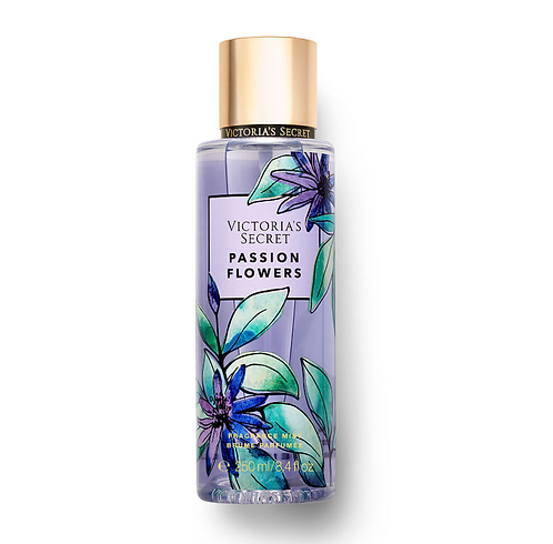 Victoria's Secret Fragrance Mist (250 ml) - Passion Flowers + FREE DKNY POUCH