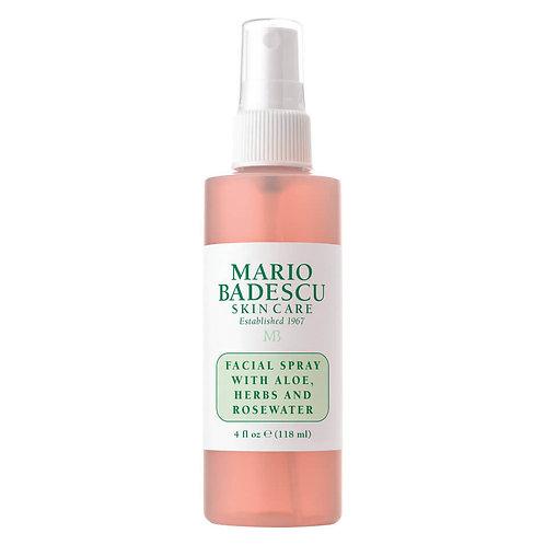 Mario Badescu Facial Spray with Aloe, Herbs and Rosewater (118 ml)