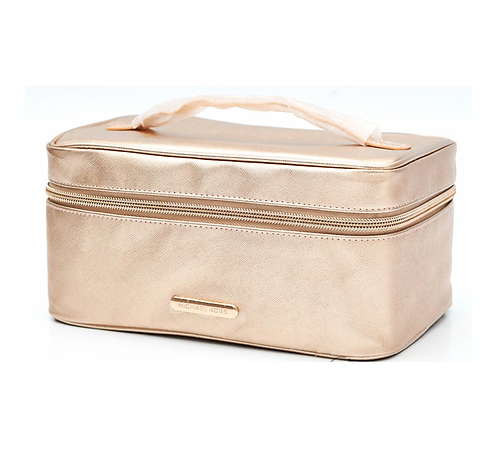MICHAEL KORS Gold Cosmetic Bag