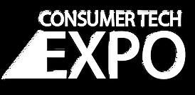 Consumer Tech Expo - Logo WHITE (with sh
