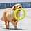 Thumbnail: Pet Flying Discs EVA Dog Training Ring Puller Resistant Bite Floating Toy Puppy