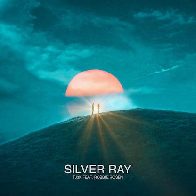 """Single artwork for producer/songwriter TJ3X's new single """"Silver Ray."""""""