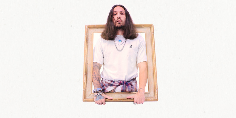 Press photo of genre-bending producer/singer-songwriter Grabbitz.