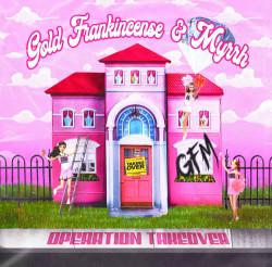 The artwork for metalcore/pop-punk sister trio, Gold, Frankincense, & Myrrh's brand new EP, Operation Take Over.