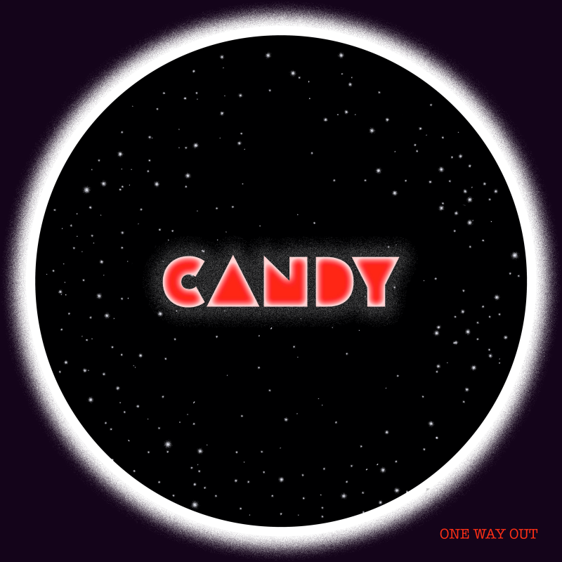 """Artwork for Washington, D.C. rock band One Way Out's brand new single, """"Candy."""""""