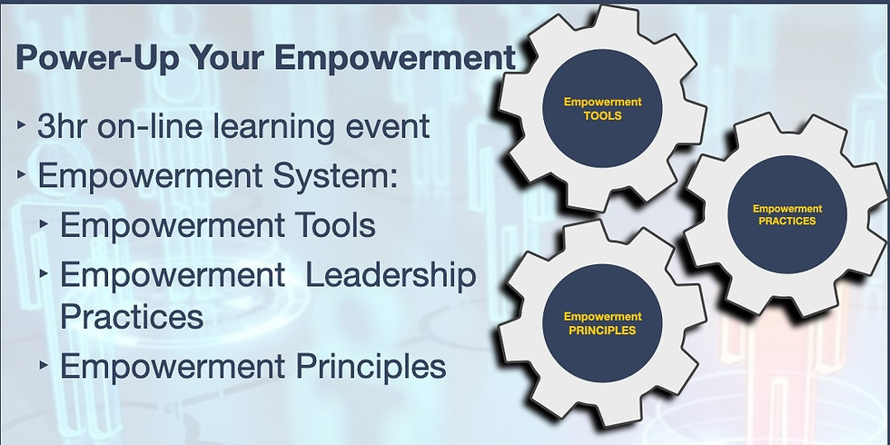 """Online """"Power-Up"""" Your Empowerment.  August 5th, 1pm-4pm"""