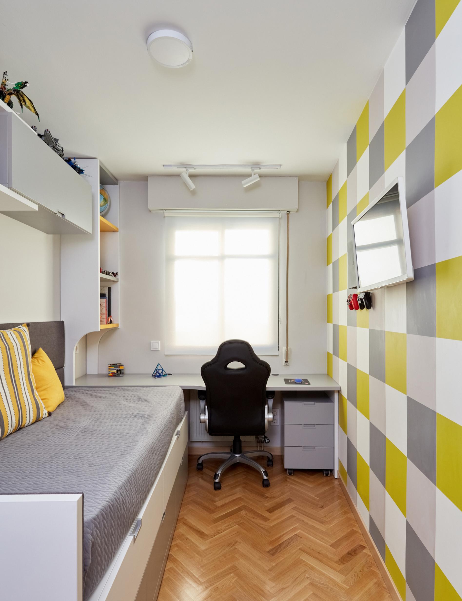 Vista General Dormitorio Juvenil
