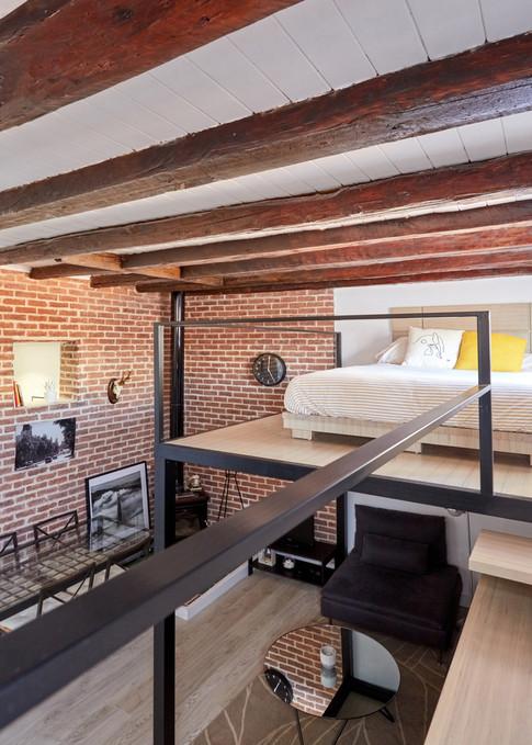 Loft en Pleno Centro de Madrid: Todo en 30 m2 (Madrid)